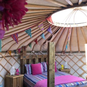 Secret Yurts Digital Detox Holiday